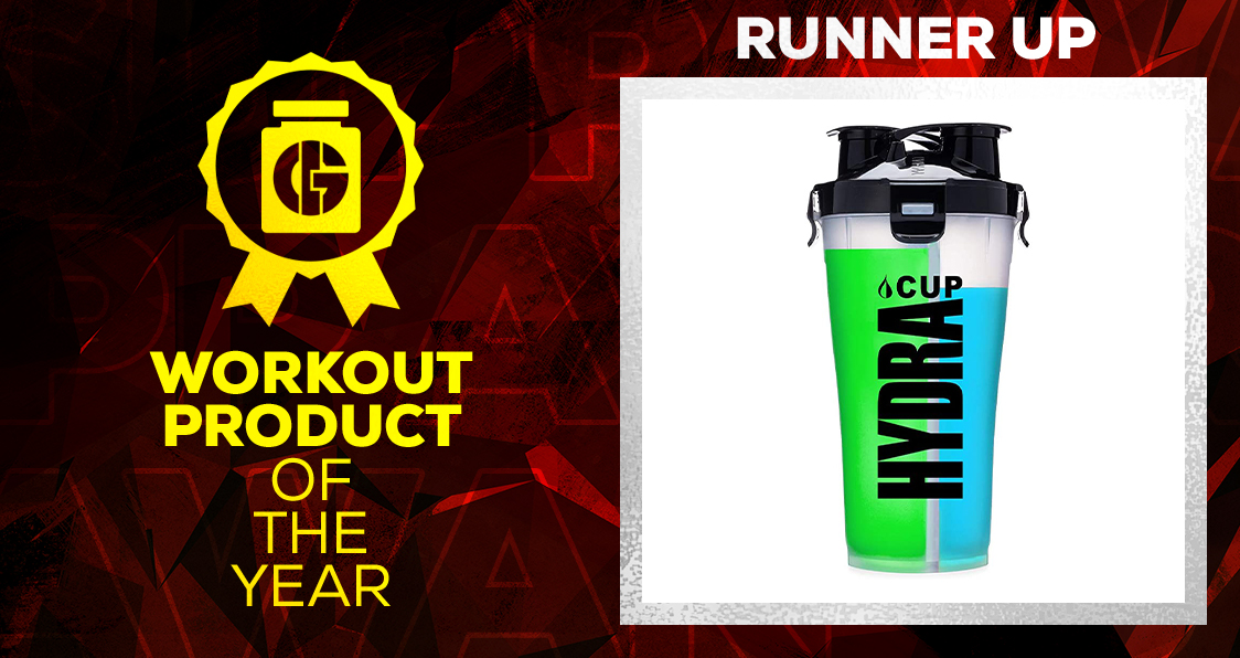 Generation Iron Supplement Awards Workout Product Hydra Cup
