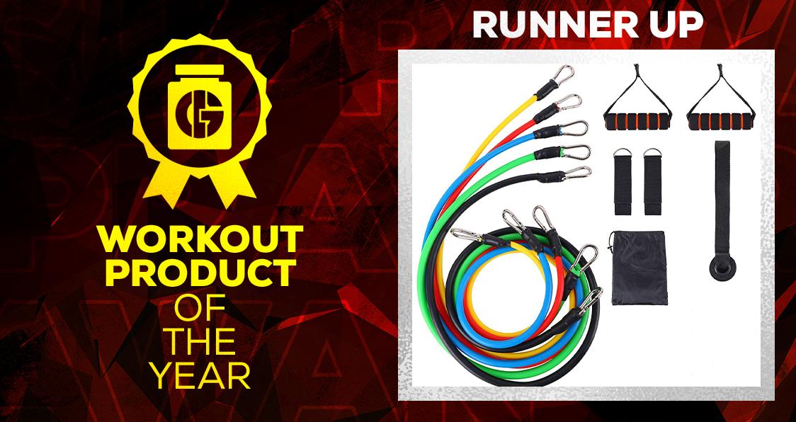 Generation Iron Supplement Awards Workout Product Exercise Band