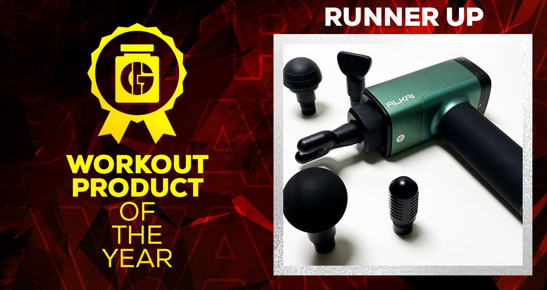 Generation Iron Supplement Awards Workout Product Alkai Massage Gun