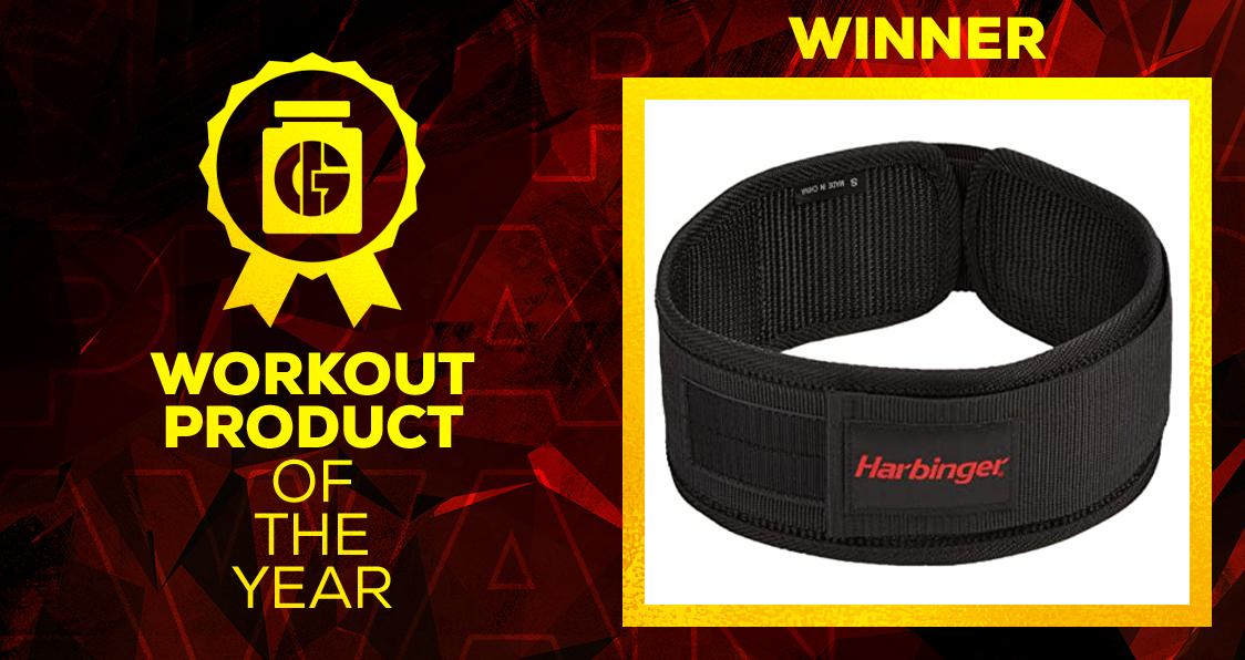 Generation Iron Supplement Awards Workout Product Harbinger weightlifting belt