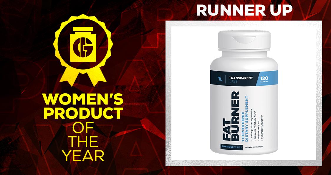 Generation Iron Supplement Awards Women's Product Transparent Labs Fat Burner