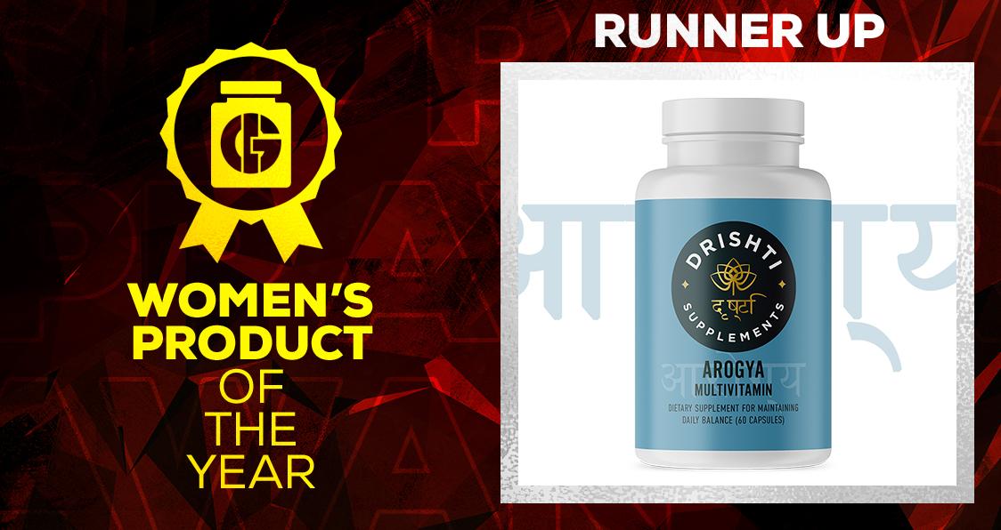 Generation Iron Supplement Awards Women's Product Drishti Arogoya Multivitamin