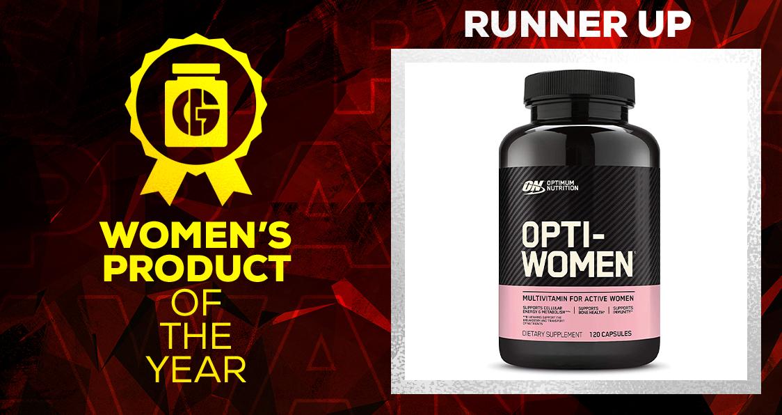 Generation Iron Supplement Awards Women's Product Opti-Women