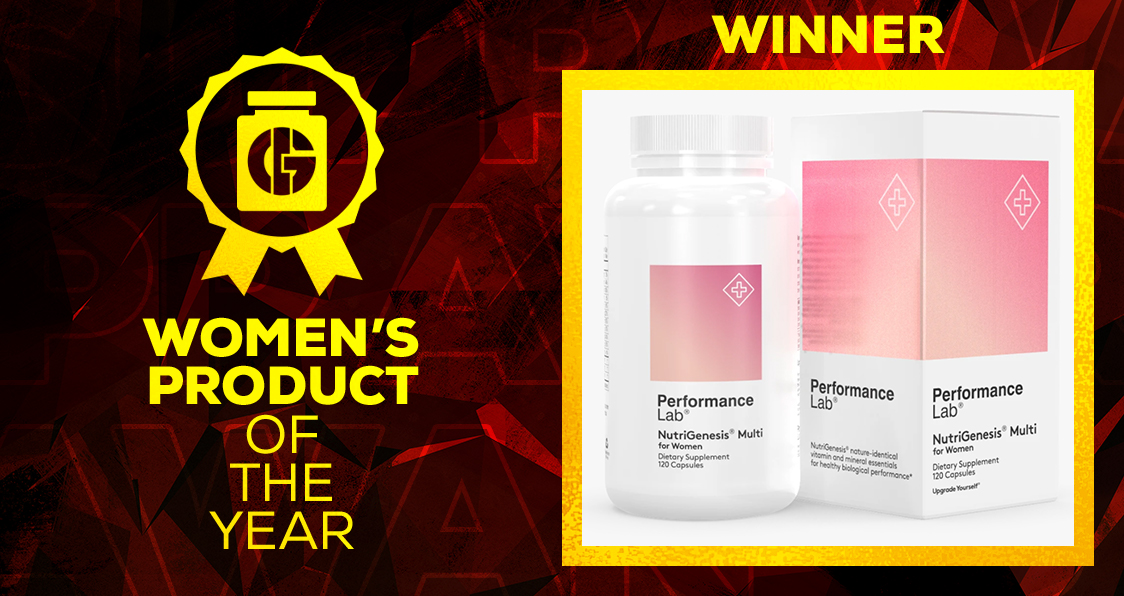 Generation Iron Supplement Awards Women's Product Performance Lab Multi for Women