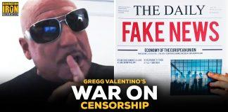 Gregg Valentino War On Censorship Political Correctness