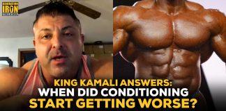 King Kamali bodybuilding conditioning worse