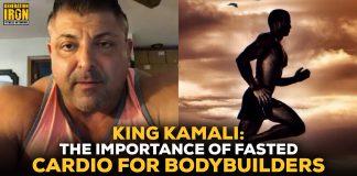 King Kamali fasted cardio