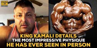 King Kamali Most Impressive Physique Bodybuilding