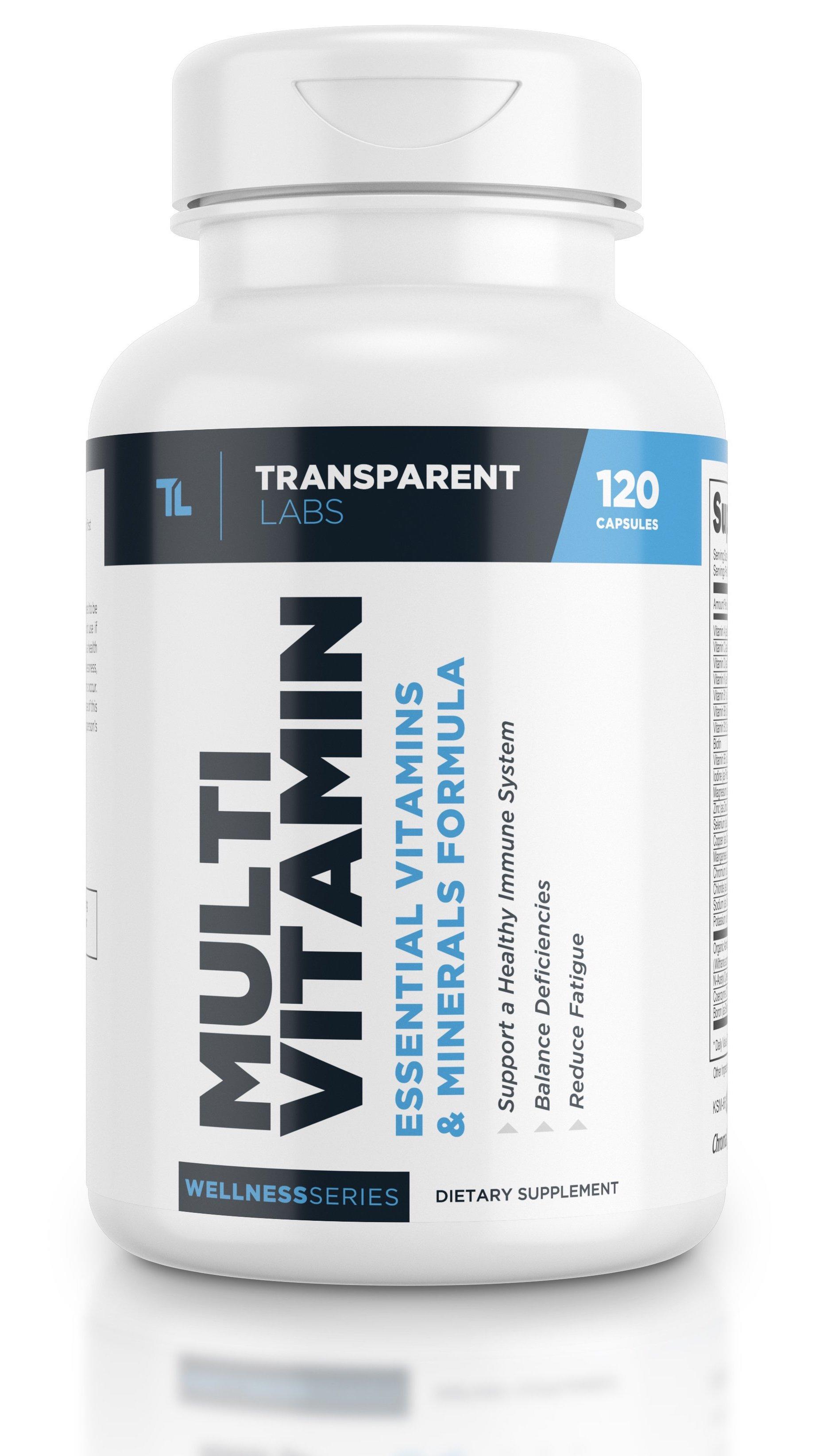 Transparent Labs Multivitamin