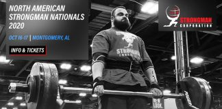 North American Strongman Nationals 2020