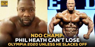 NDO Champ Phil Heath Olympia 2020