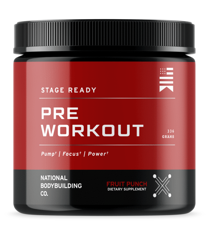 National Bodybuilding Co. Pre-Workout