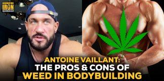 Antoine Vaillant weed in bodybuilding