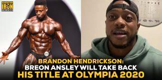 Brandon Hendrickson Breon Ansley Classic Physique Olympia 2020