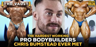 Chris Bumstead hardest working bodybuilders