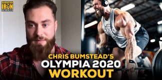 Chris Bumstead Workout Olympia 2020