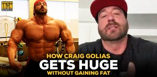 Craig Golias huge without fat