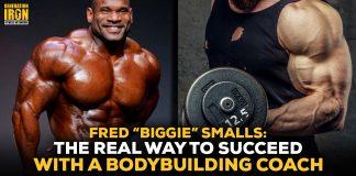 """Fred """"Biggie"""" Smalls bodybuilding coach"""