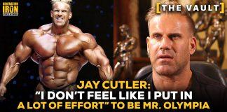 Jay Cutler Olympia effort bodybuilding