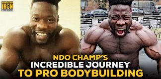 NDO Champ Prison to Pro Bodybuilding