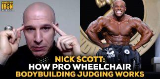 Nick Scott Pro Wheelchair Bodybuilding Judging