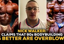Nick Walker 90s Bodybuilding Bubble Guts