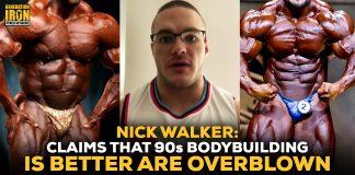 Nick Walker 90s Bodybuilding Bubble Guts