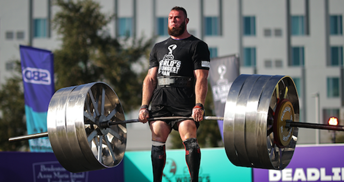World's Strongest Man 2020 Deadlift World Record