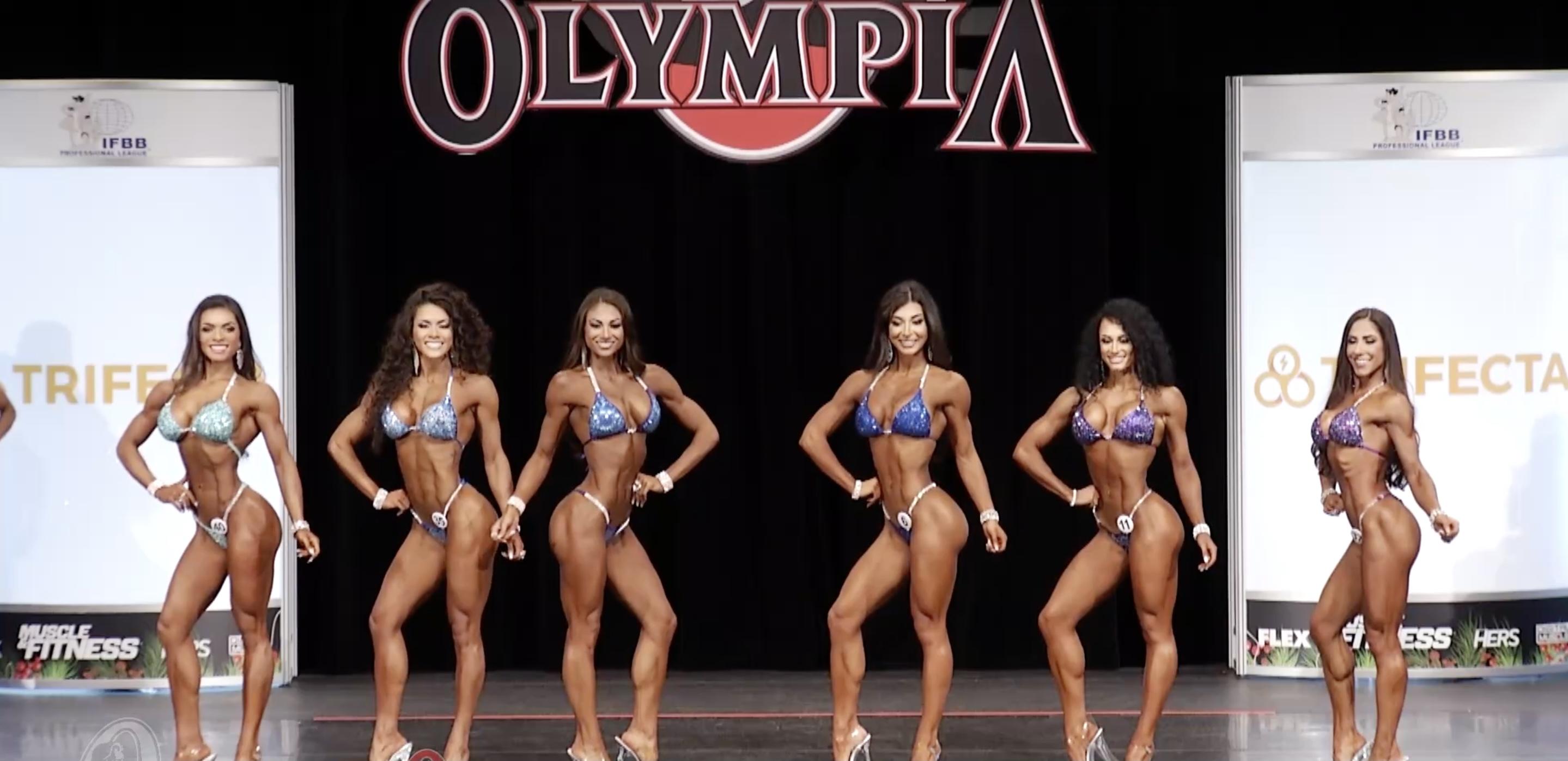 Olympia 2020 Bikini 1st Callout
