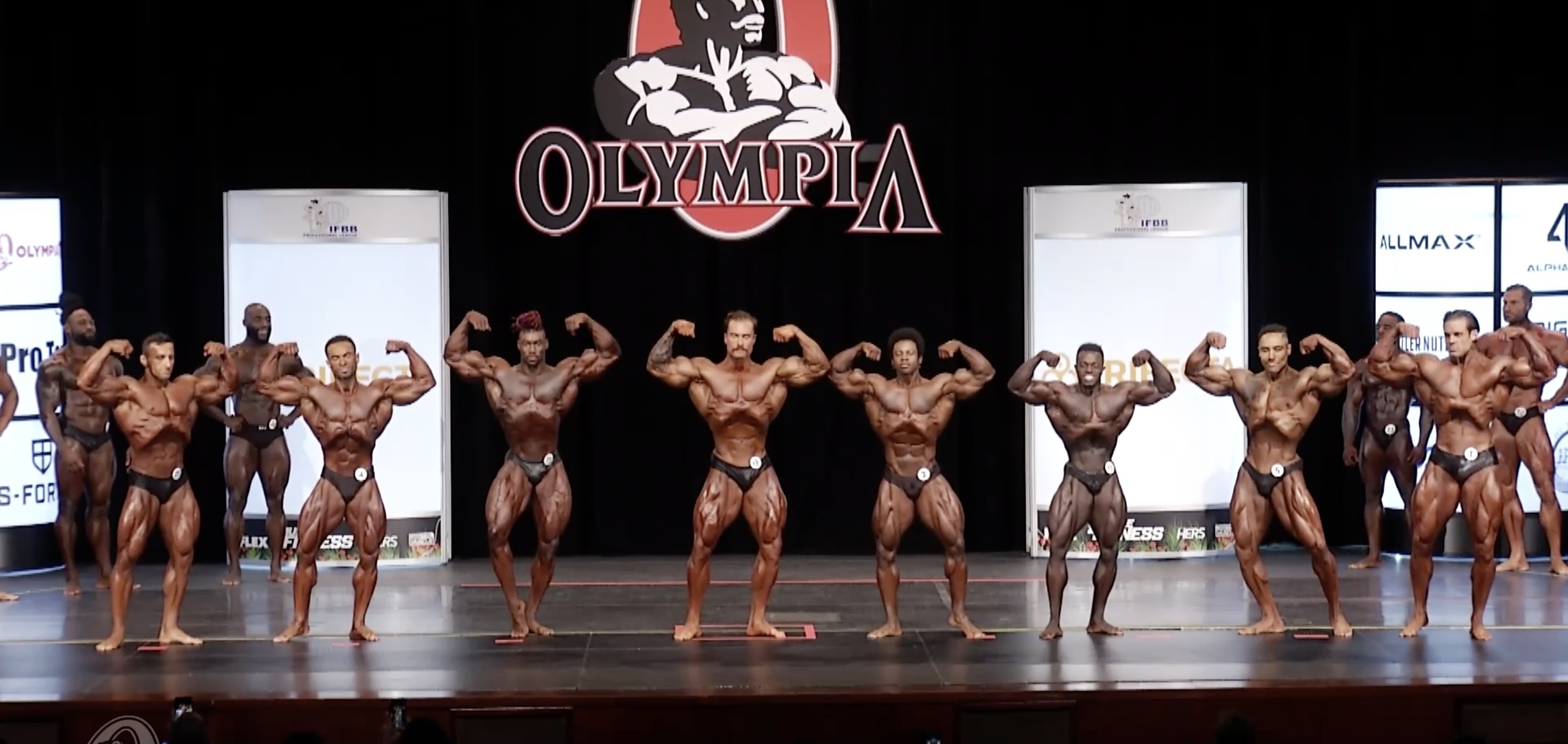 Olympia 2020 Classic Physique 1st Callout