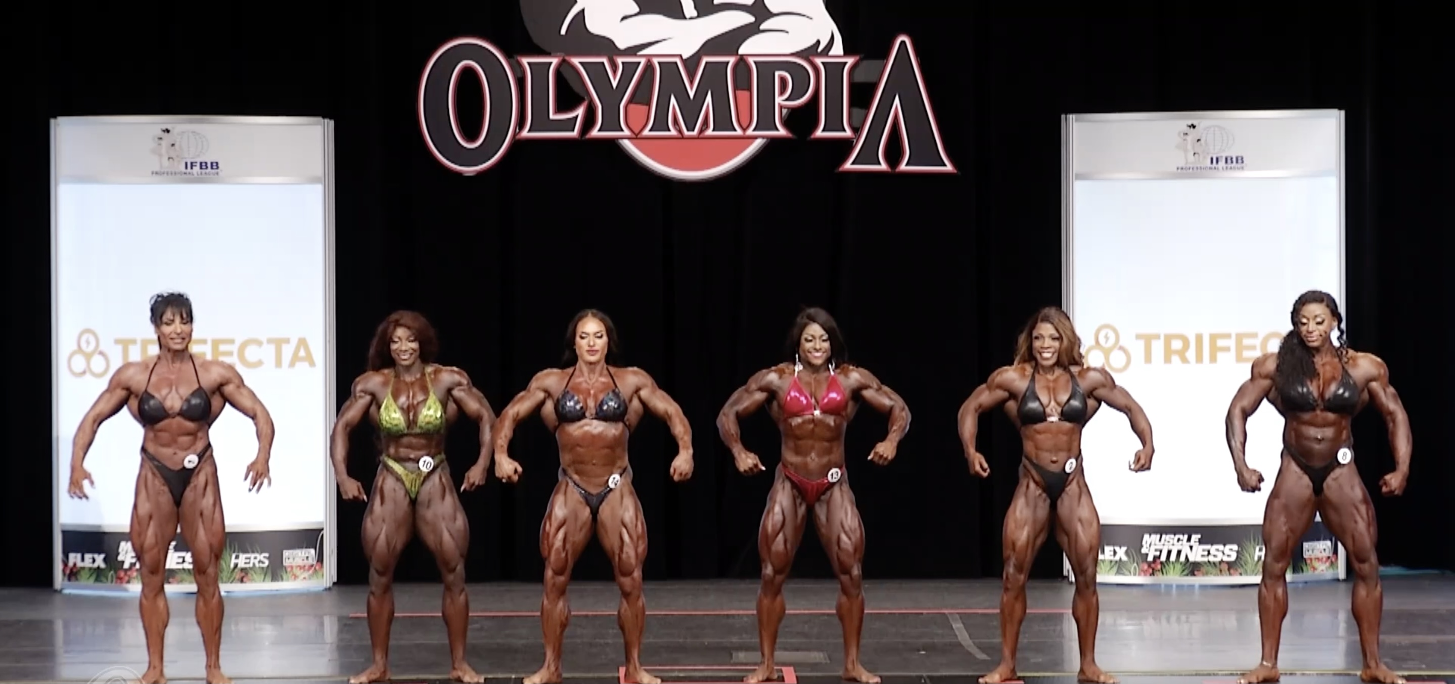 Ms. Olympia 2020 1st callout