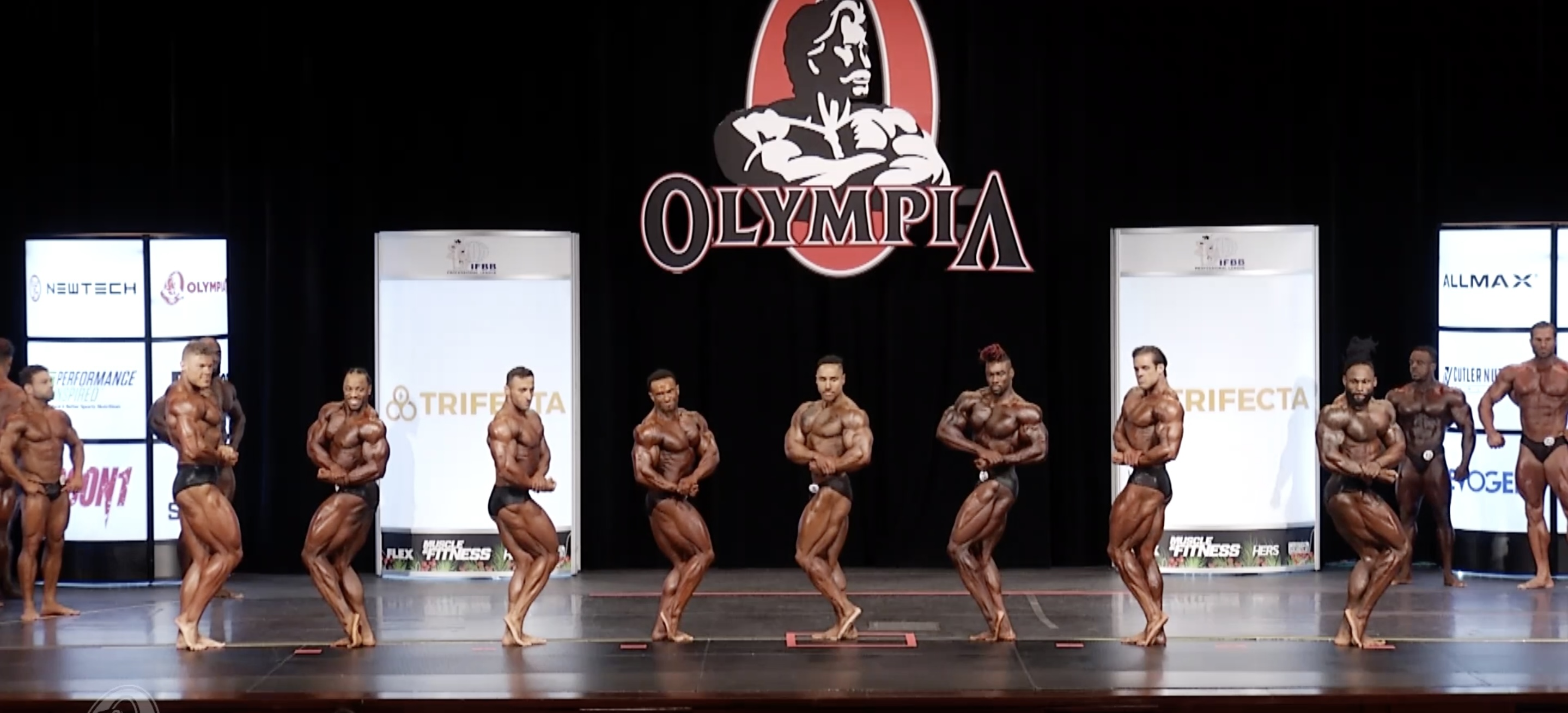 Olympia 2020 Classic Physique 2nd callout