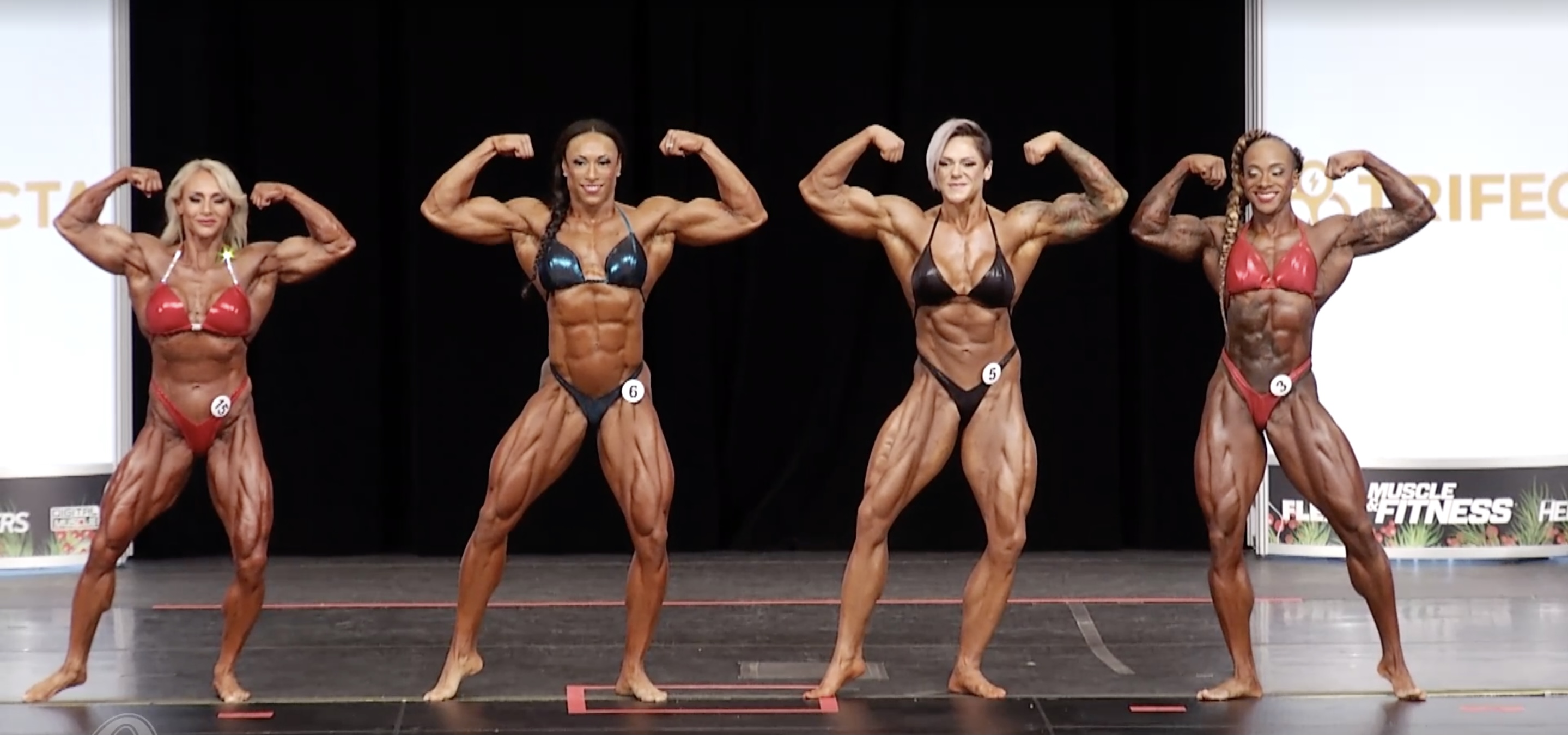 Ms. Olympia 2020 2nd callout