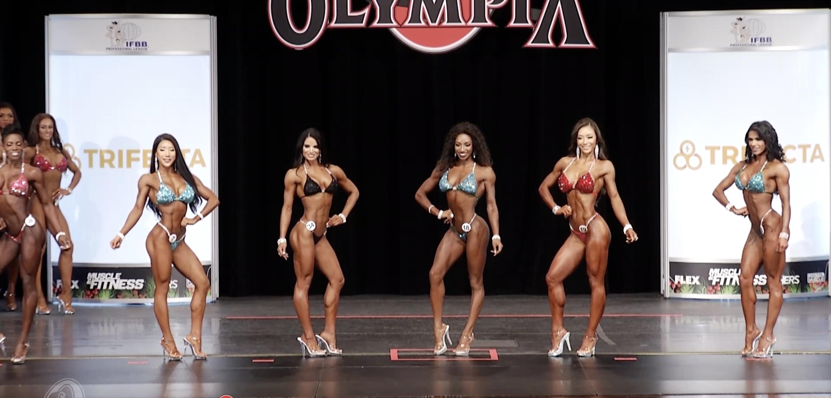 Olympia 2020 Bikini 3rd Callout