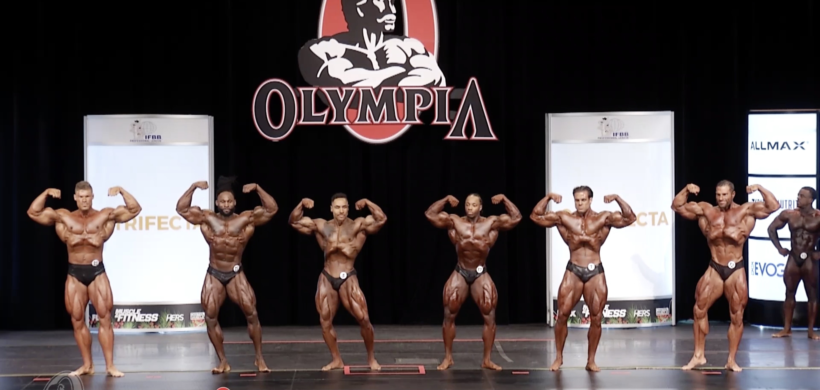 Olympia 2020 Classic Physique 3rd callout