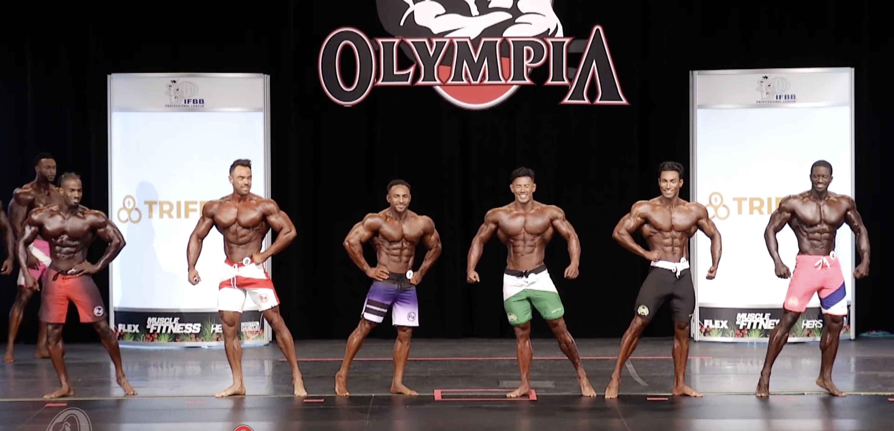 Olympia 2020 Men's Physique 3rd callout