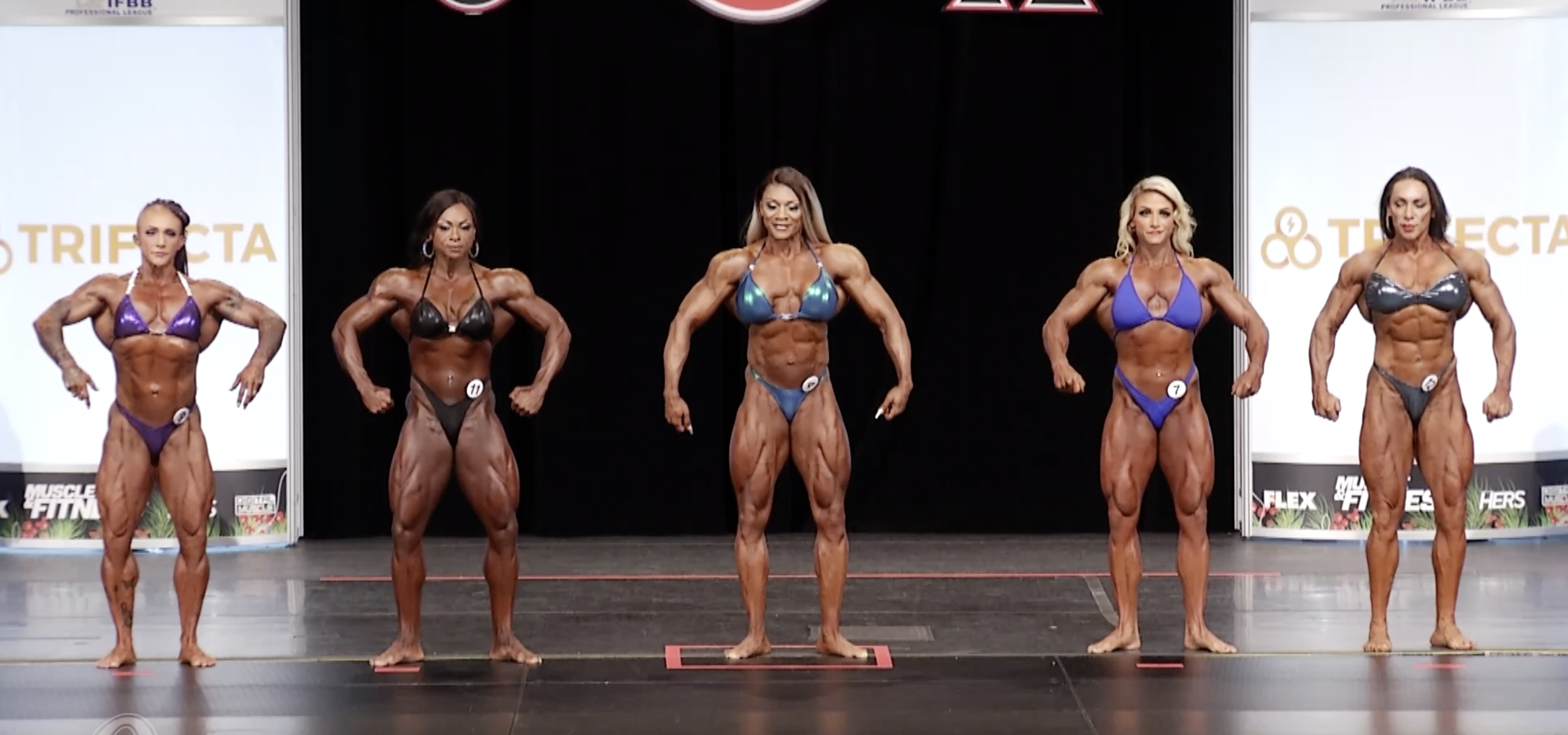 Ms. Olympia 2020 3rd callout