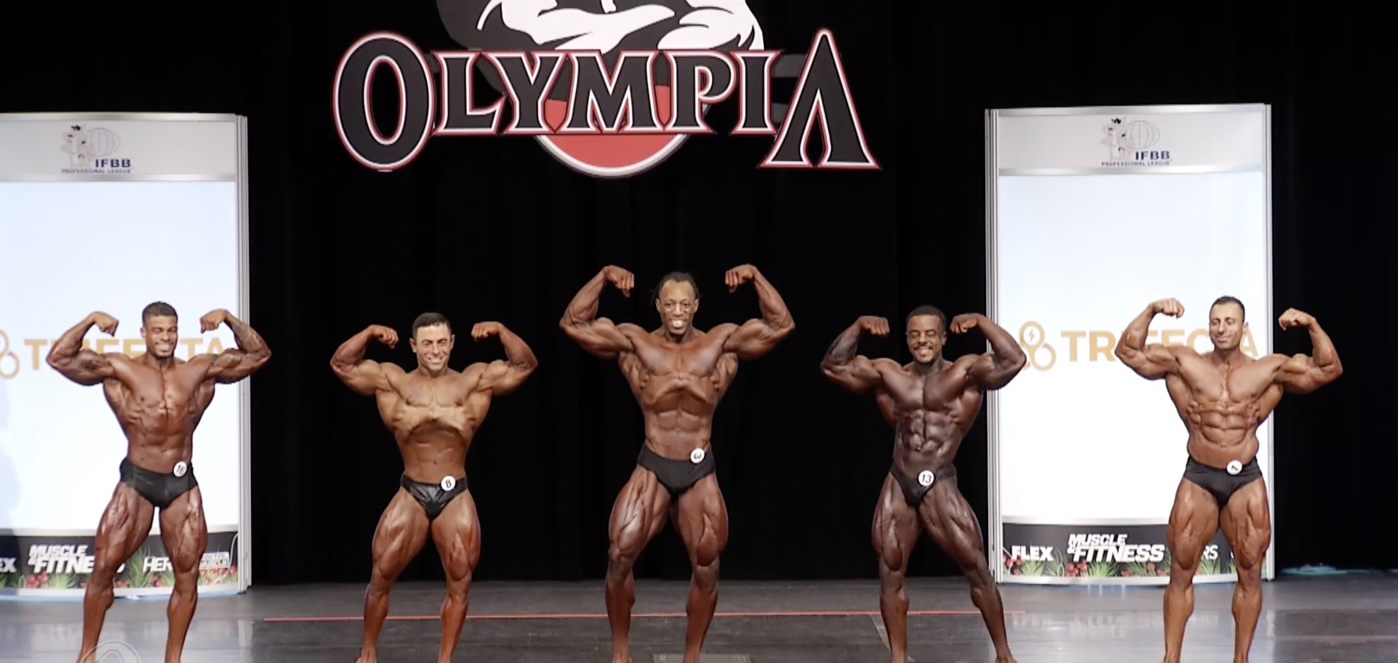Olympia 2020 Classic Physique 4th callout