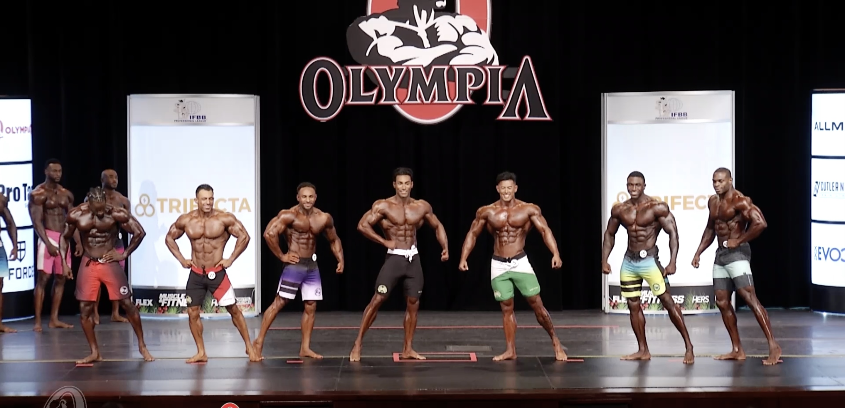 Olympia 2020 Men's Physique 4th callout