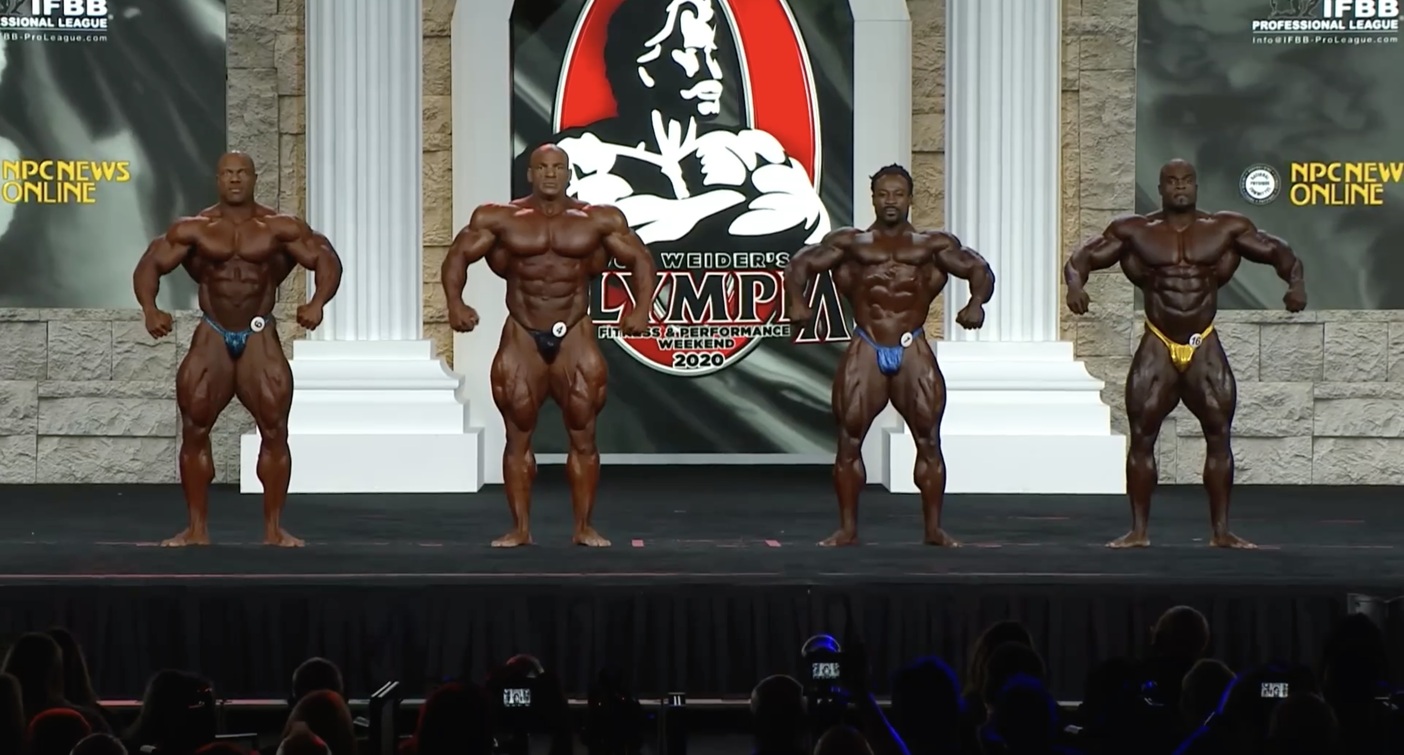 Mr. Olympia 2020 4th Callout