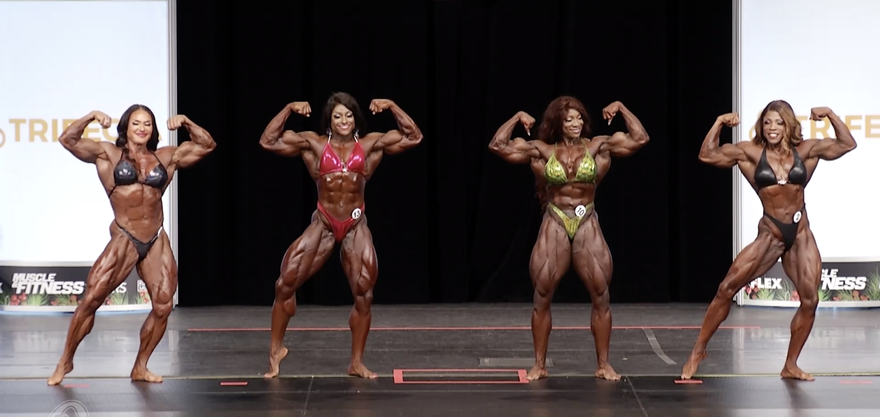 Ms. Olympia 2020 4th callout top 4