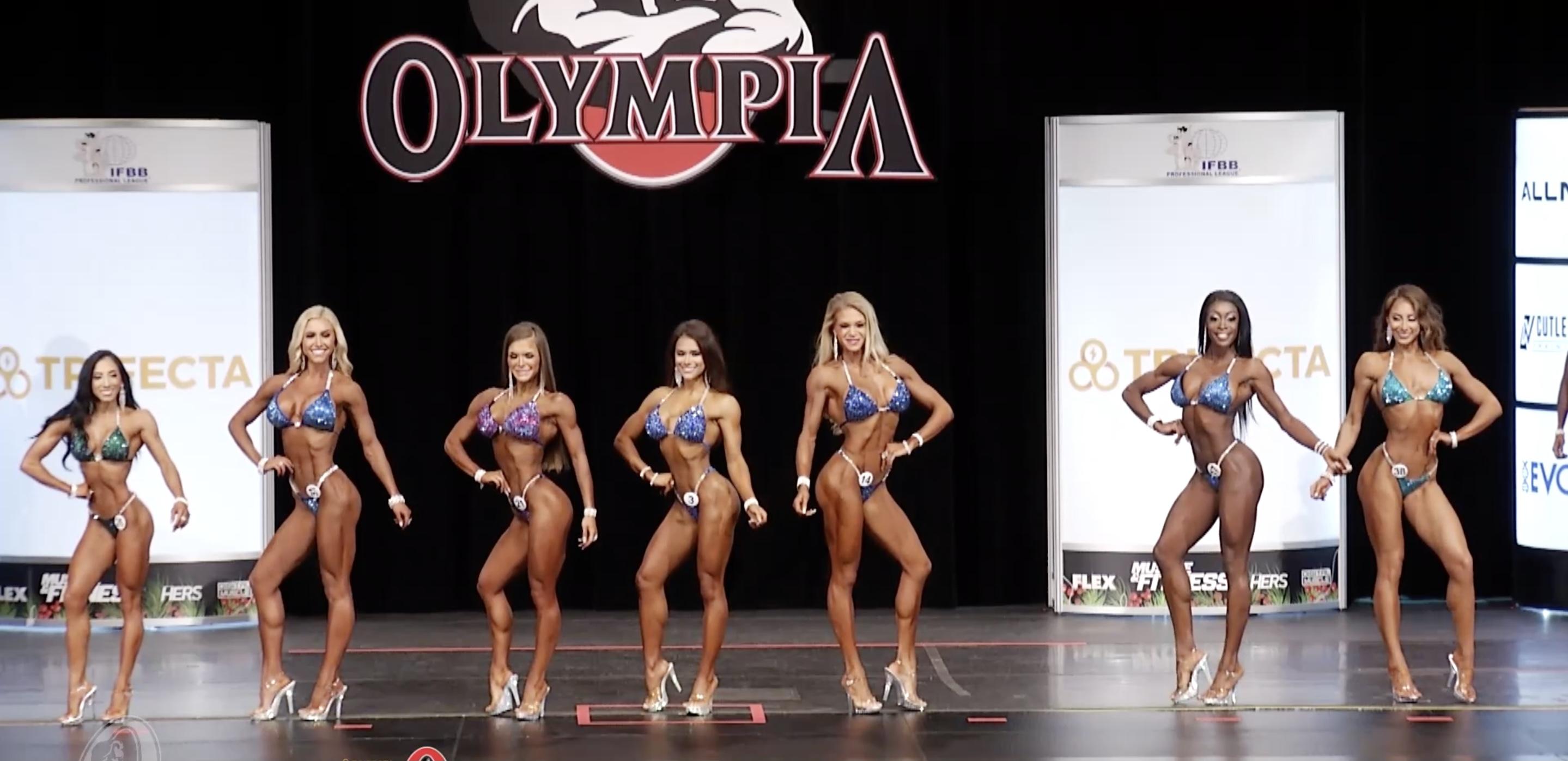 Olympia 2020 Bikini 4th Callout