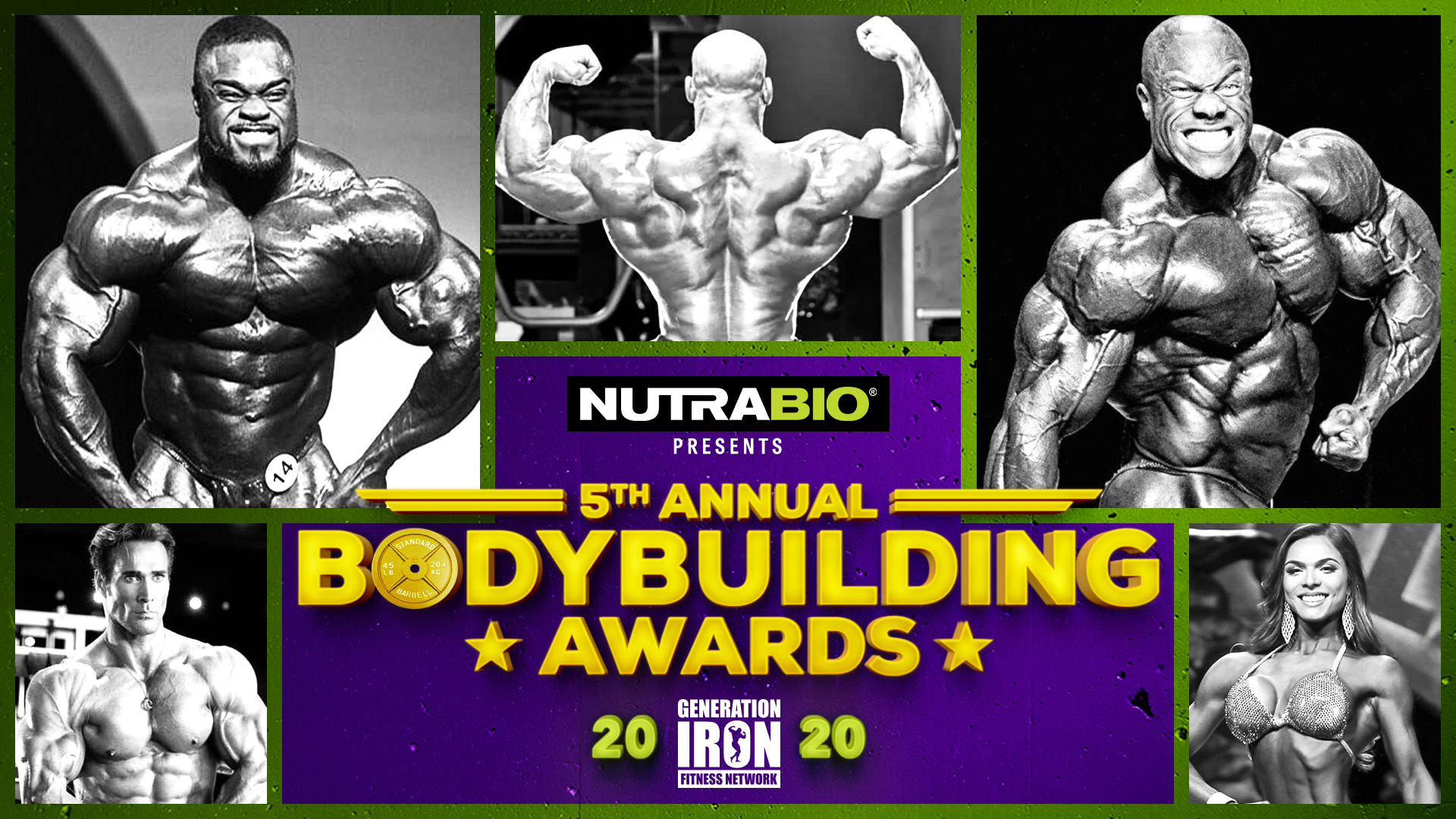 Generation Iron Bodybuilding Awards 2020