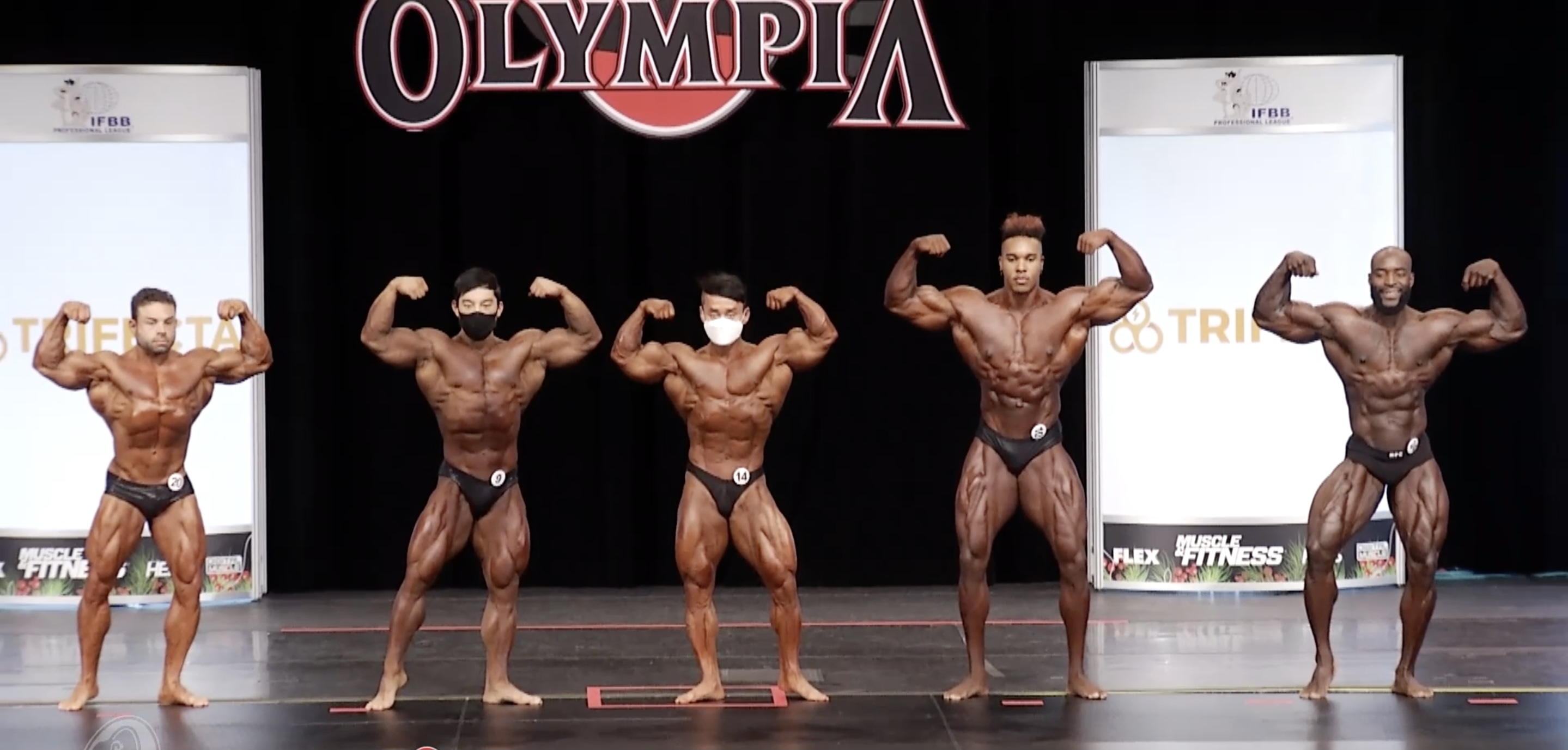 Olympia 2020 Classic Physique 5th Callout