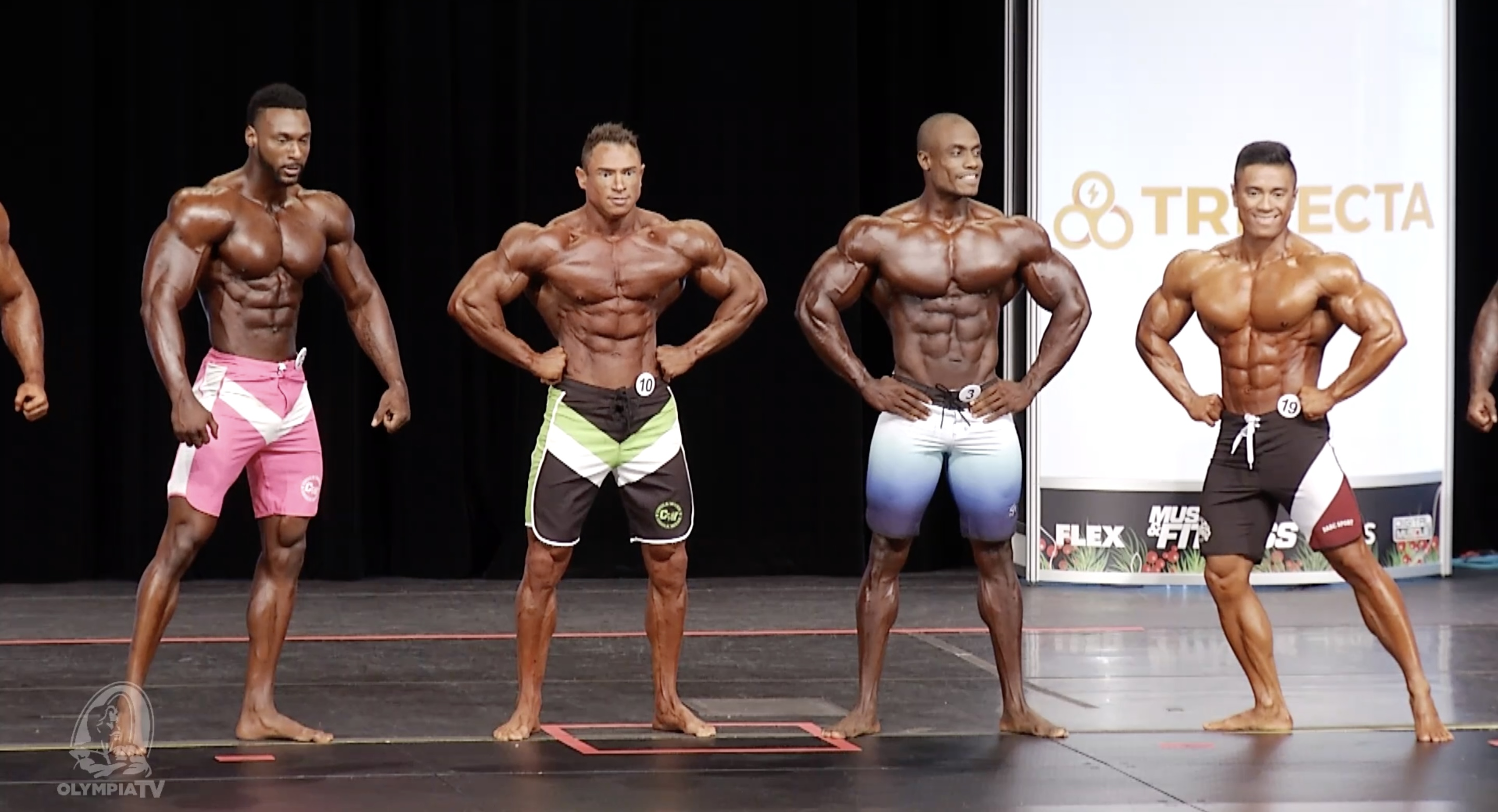 Olympia 2020 Men's Physique 5th callout