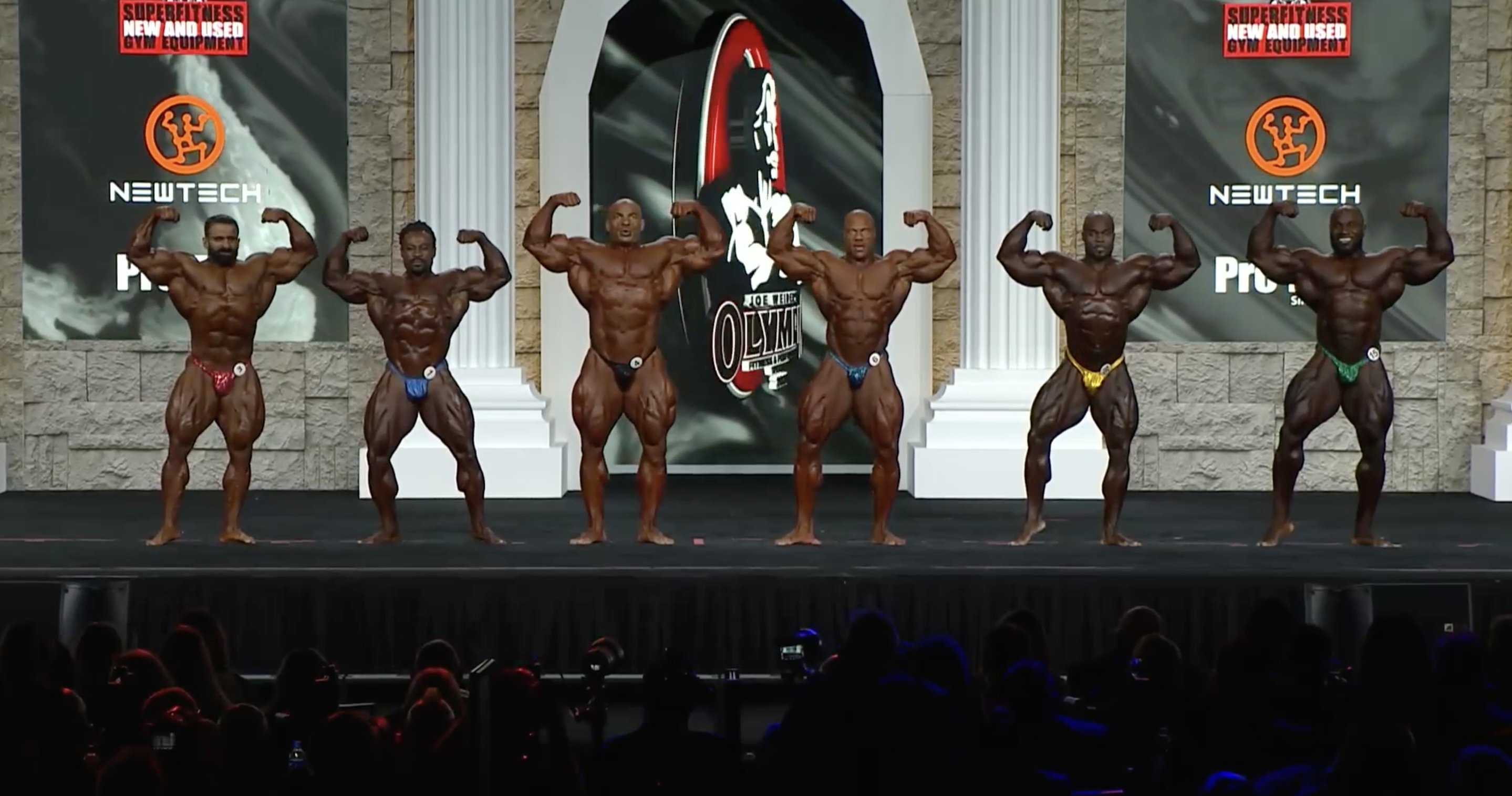 Mr. Olympia 2020 6th Callout