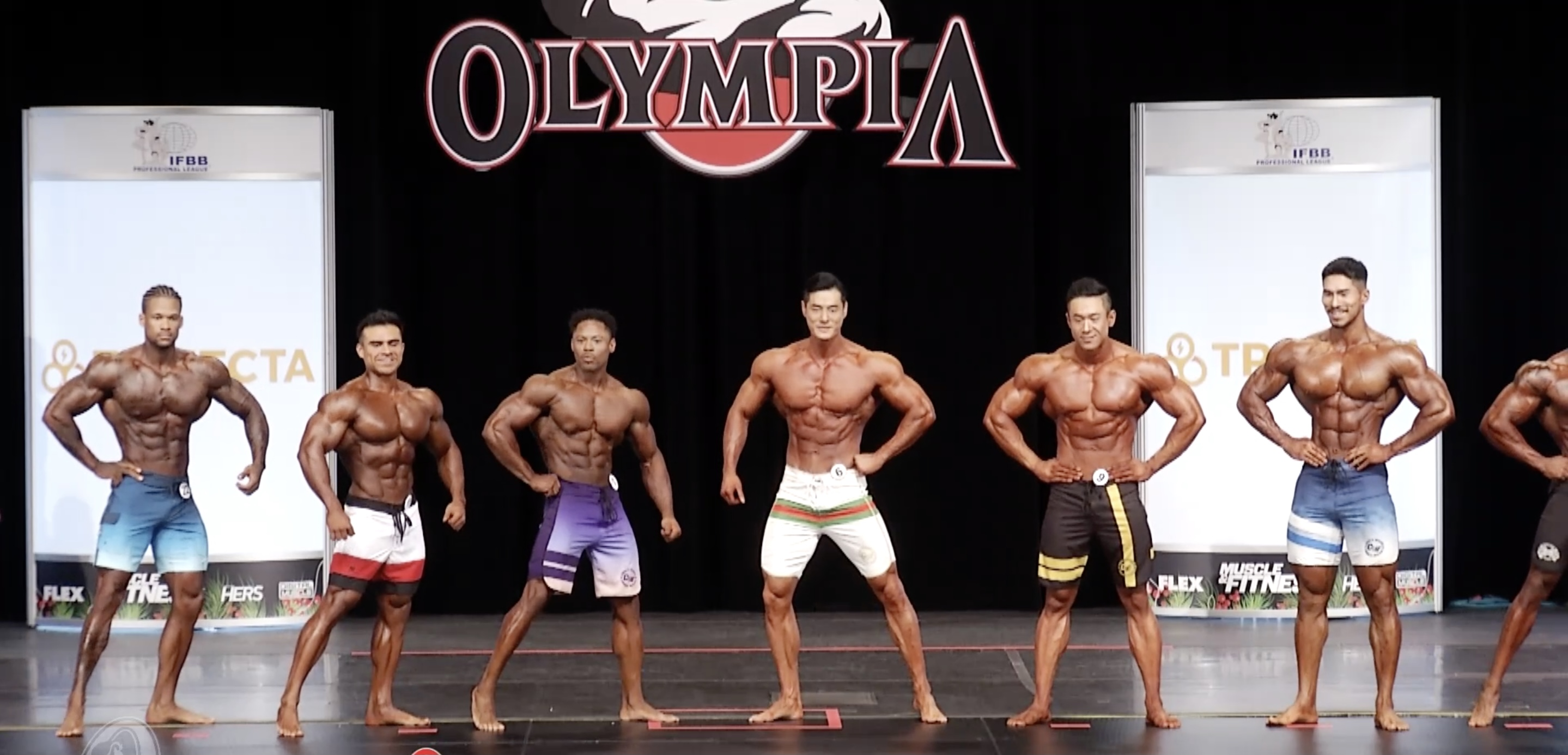 Olympia 2020 Men's Physique 6th callout