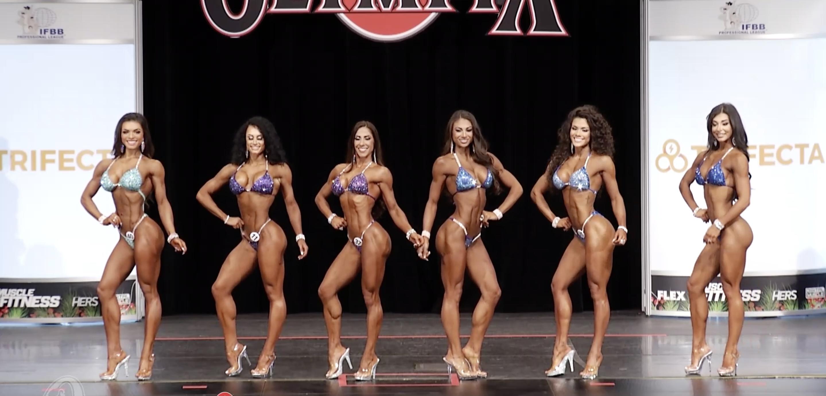 Olympia 2020 Bikini 7th callout Top 6