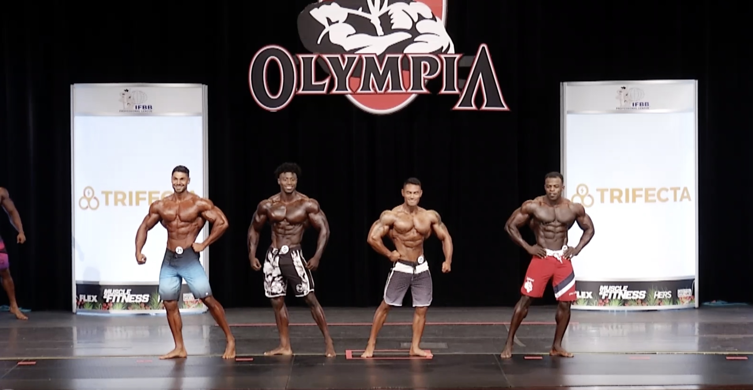 Olympia 2020 Men's Physique 7th callout