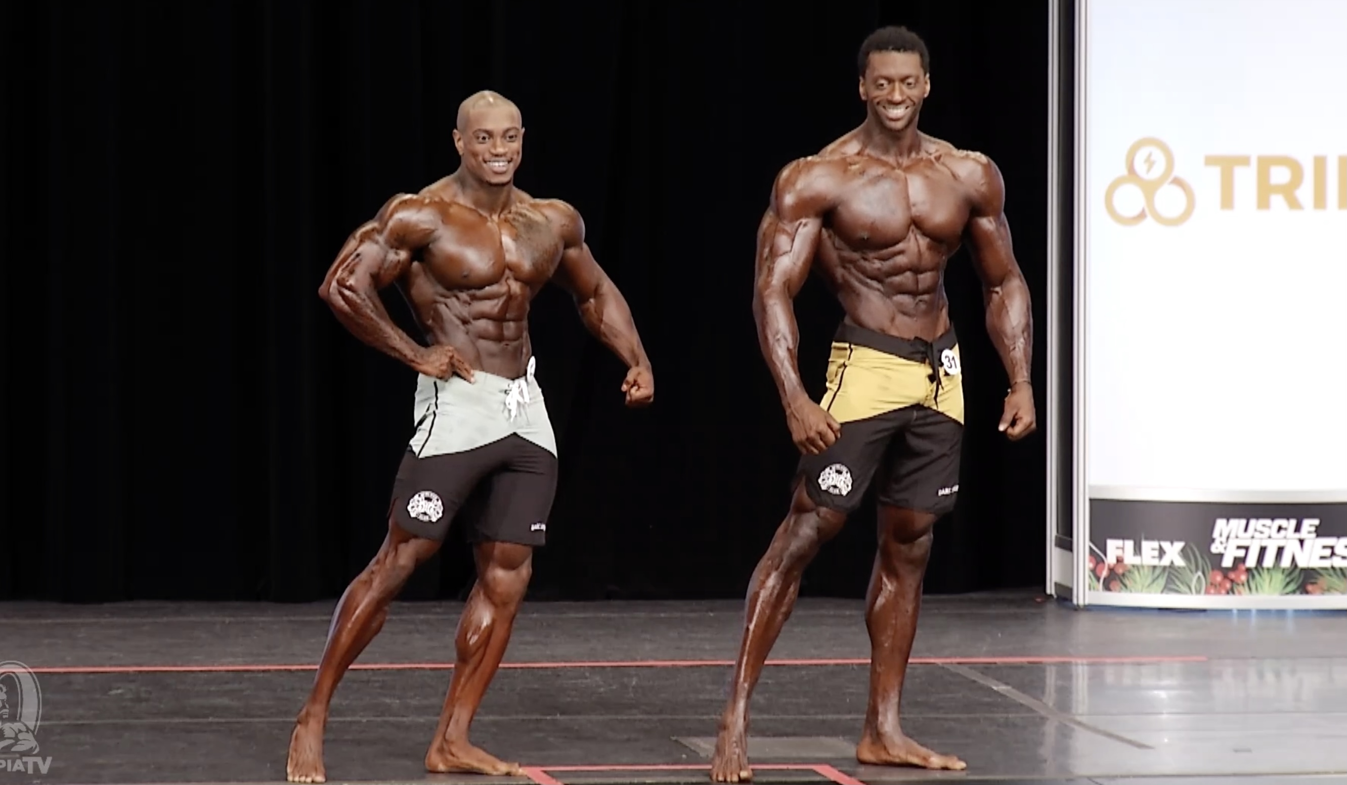 Olympia 2020 Men's Physique 8th callout
